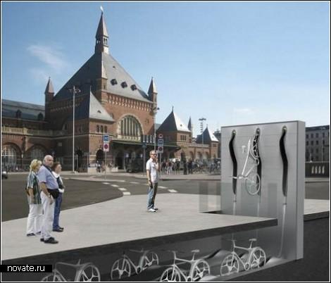 Велосипедный город Копенгаген