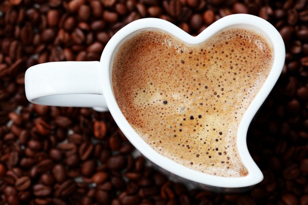 Сердечная чашка
