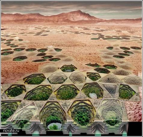 Подземные города в пустыне