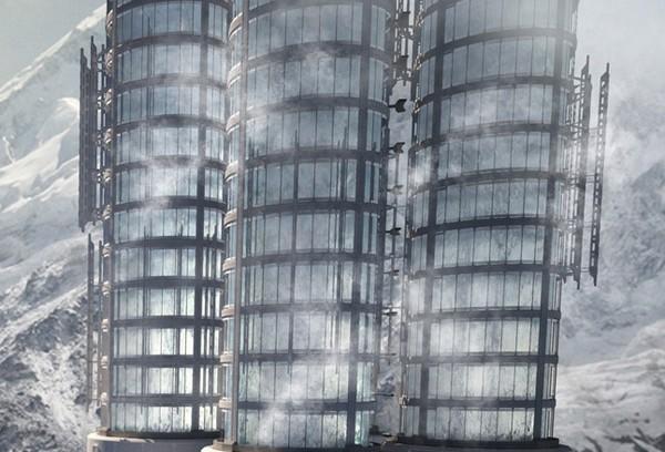 Himalaya Water Towers – лучший небоскреб 2012 года