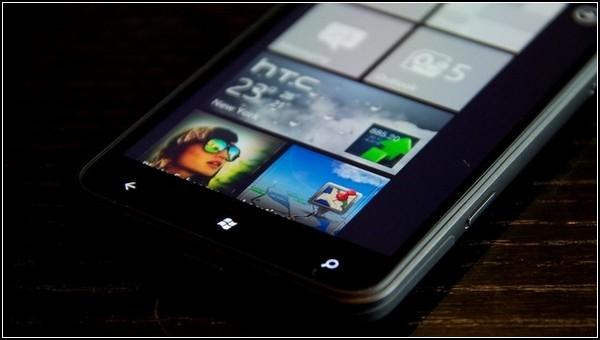 HTC Titan – великан среди телефонов