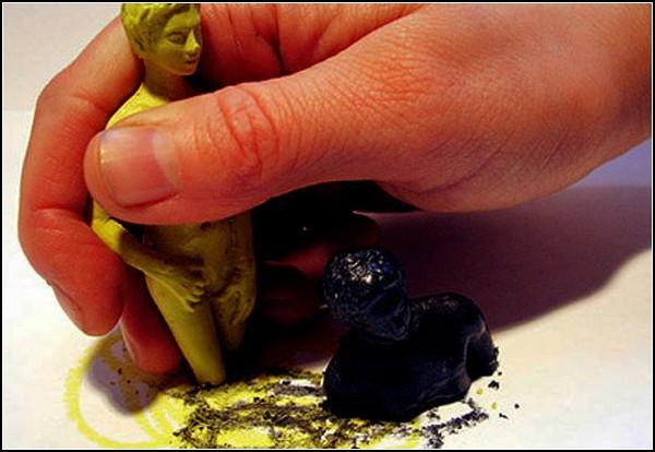 Цветные мелки от Микеланджело