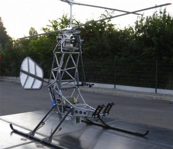 Первый в мире электровертолет