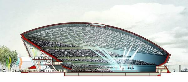 The Hydro – многофункциональная арена от Foster + Partners