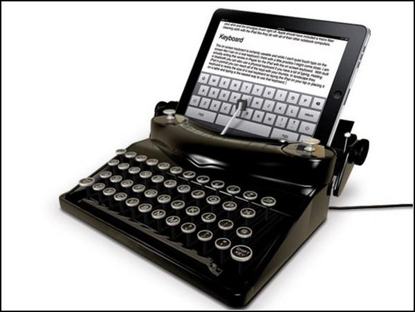 The Typescreen внешняя клавиатура для iPad