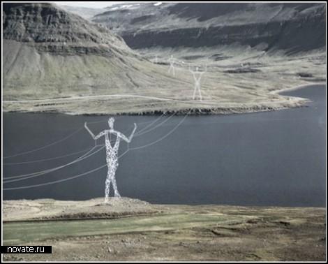 Гигантские герои саг – лучшие электроопоры для Исландии