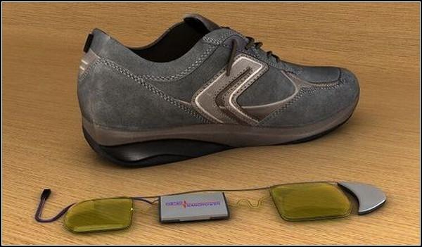 InShoe Wonder: как зарядить телефон во время прогулки