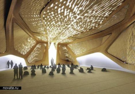 Пустынный оазис от Захи Хадид