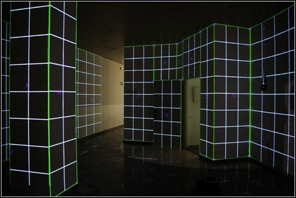 Добро пожаловать в Сетку: интерактивные интерьеры Института Гете в Барселоне