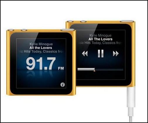 Новый iPod Nano – маленький и спортивный
