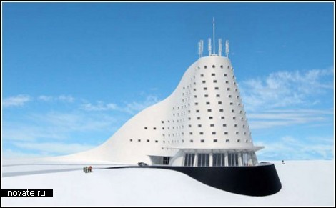Отель для любителей зимнего отдыха с собственым лыжным склоном