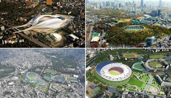 Шорт-лист конкурса на постройку Национального стадиона Японии