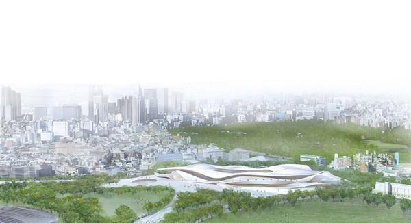 Проект от SANAA и Nikken Sekkei, Япония