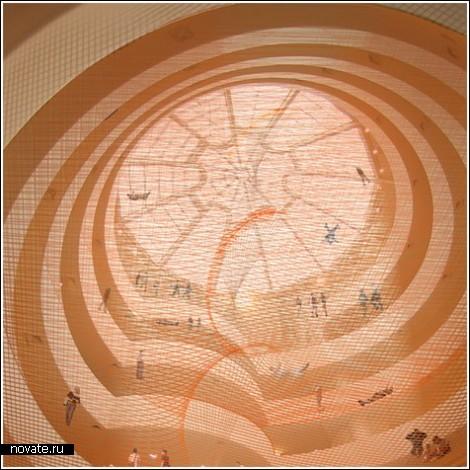 Батут в Музее Гуггенхайма