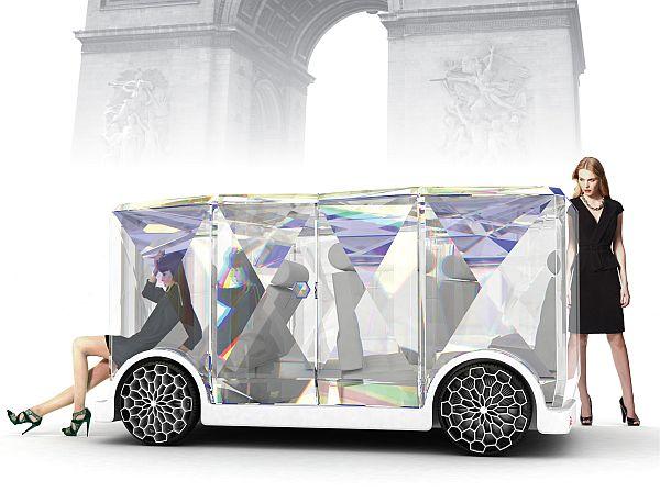 Jeweline – стильный туристический автобус для Парижа
