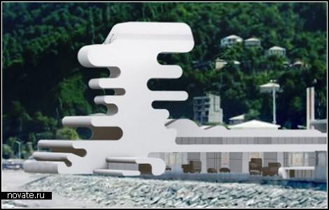 Наземные ворота Грузии: погранпункт на пляже в Сарпи