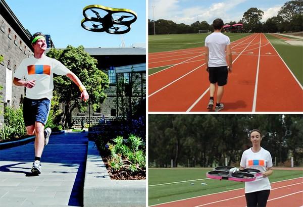 Joggobot – летающий персональный тренер