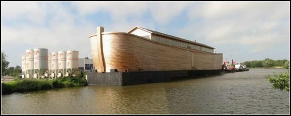 Практически настоящий Ноев Ковчег в Нидерландах