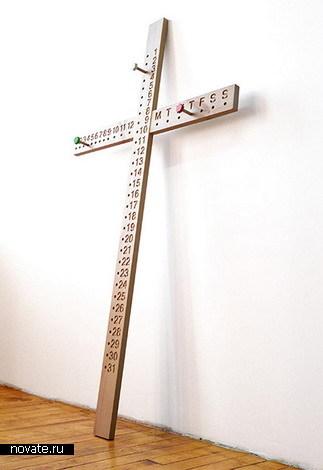 Календарь-крест для религиозных людей