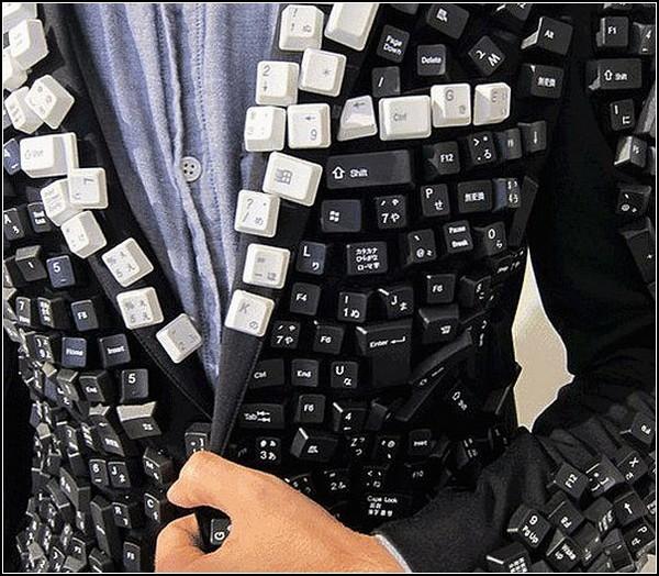 Клавиатурный пиджак для техногиков