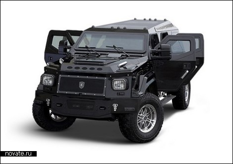 KNIGHT XV – Hummer на стероидах