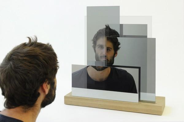 Многоуровневое зеркало Layered Me от mischer'traxler