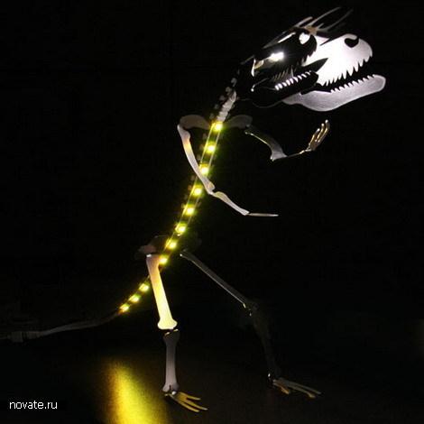 Настольный динозавр