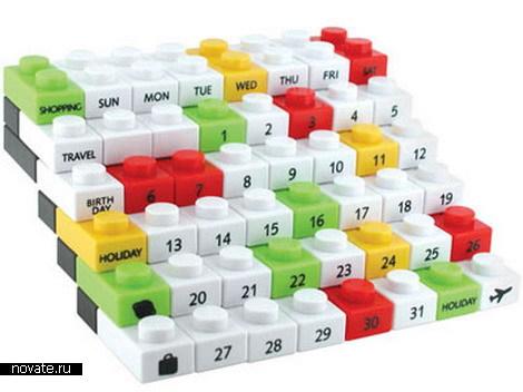 Необычные дизайнерские календари.