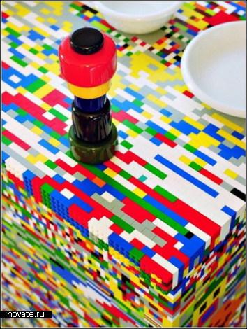 Кухня из LEGO