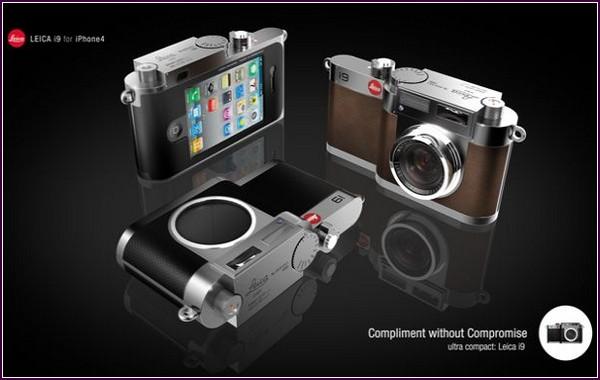Leica i9 – фотоаппарат, объединяющий Leica и iPhone