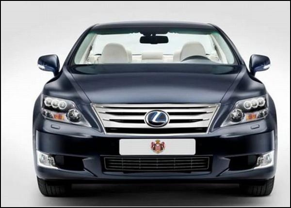 Особый Lexus для королевской свадьбы