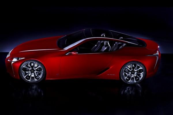 Lexus LF-LC – гибридное авто богатых и экономных