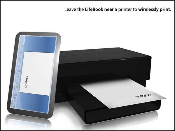 Lifebook – концепт планшета из ближайшего будущего