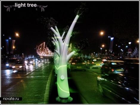 Light Tree – деревья для освещения улиц