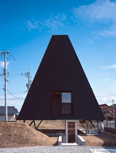 Black Pyramid House – жилой дом для японских фараонов