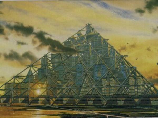 Shimizu Mega-City Pyramid – пирамидальный город в Японии