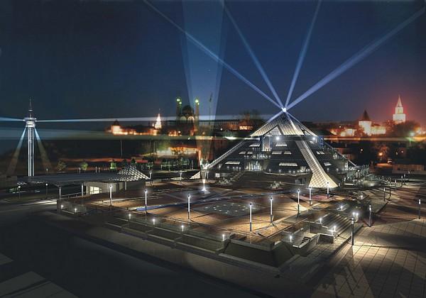 Пирамида – концертный зал в Казани