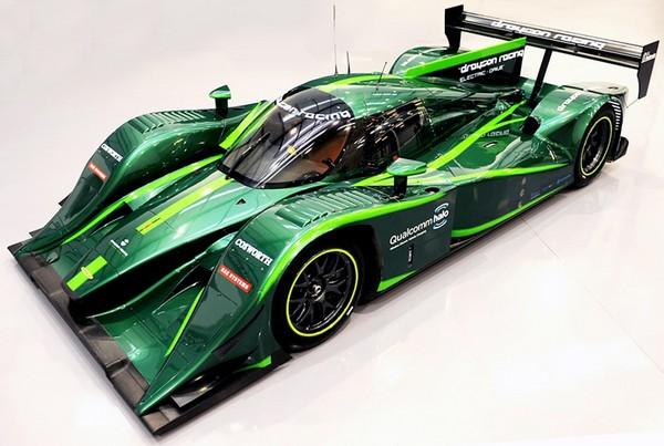 Lola-Drayson – первый в мире гоночный электромобиль