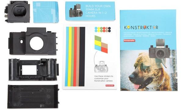 Lomography Konstruktor – фотоаппарат-конструктор из серии «Сделай сам»