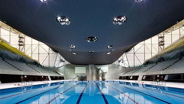 Aquatics Centre от Захи Хадид