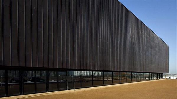 Copper Box — гандбольная арена из вторичных материалов