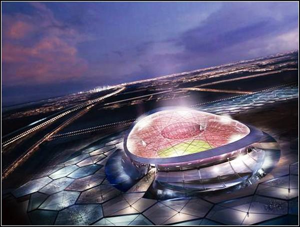 Солнечный стадион в Катаре от Нормана Фостера (Norman Foster)