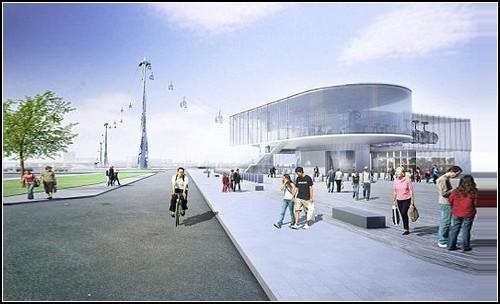 Канатная дорога к Олимпиаде в Лондоне