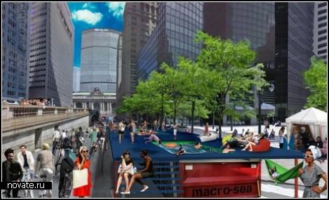 Городские бассейны на улицах