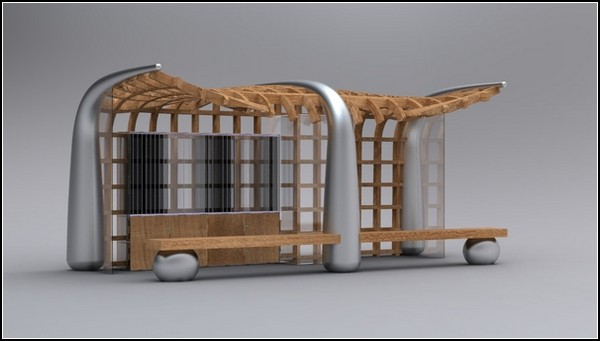 Остановки-библиотеки скрасят ожидание автобуса