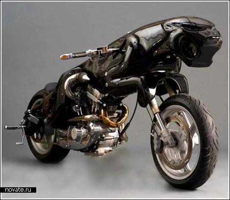 Мотоцикл в виде ягуара
