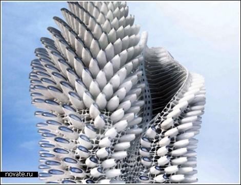 Небоскреб пальма для лондона будущего