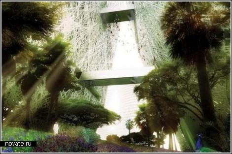 Снаружи – террасы, внутри – оазис