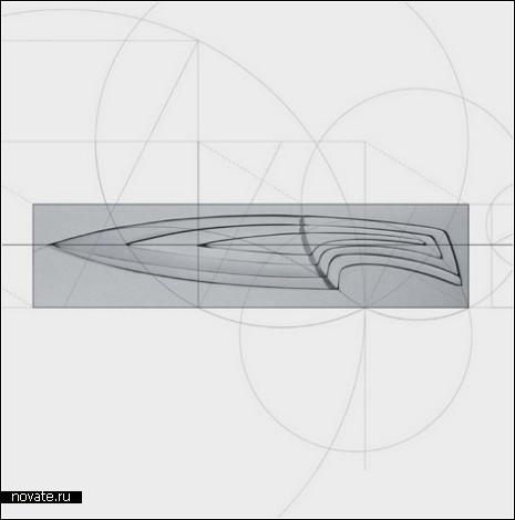 Нож-матрешка, вдохновленный последовательностью Фибоначчи
