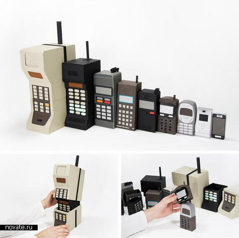 Телефонная матрешка
